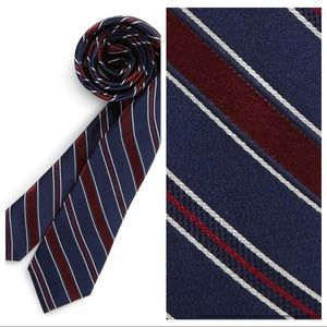 NEW Nordstrom Jared Stripe 100% Silk Tie